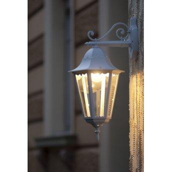 Applique extérieure LUTEC BRISTOL Blanc, 1 lumière