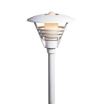 Lampadaire extérieur Konstsmide Gemini Blanc, 1 lumière