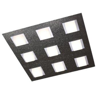 Plafonnier Grossmann BASIC LED Anthracite, 9 lumières
