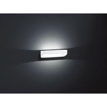 Applique murale Helestra ONNO LED Blanc, 2 lumières