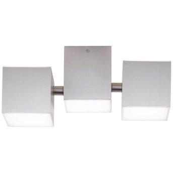 Plafonnier AEG Gillian LED Aluminium, 5 lumières