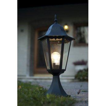 Borne d'éclairage LUTEC BRISTOL Noir, 1 lumière
