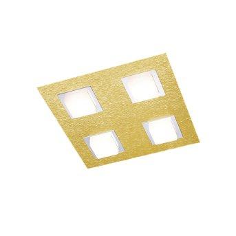 Plafonnier Grossmann BASIC LED Laiton, 4 lumières