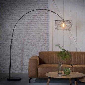 Lampe à arc Laghalerveen Anthracite, 1 lumière