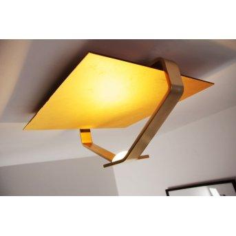 Plafonnier Elesi Luce LED Or, 1 lumière