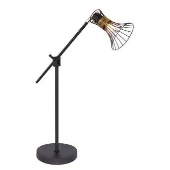 Lampe à poser Globo PURRA Noir, 1 lumière
