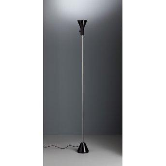 ES 57 LED Tecnolumen Projecteur Chrome, Noir, 1 lumière