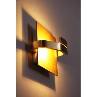 Applique murale Elesi Luce LED Or, 1 lumière