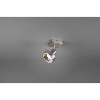Spot Trio Leon LED Nickel mat, 1 lumière