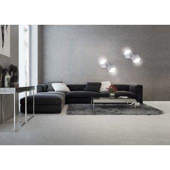Applique murale / Plafonnier Grossmann GEO LED Aluminium, 2 lumières