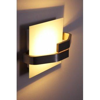 Applique murale Elesi Luce LED Argenté, 1 lumière