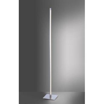 Lampadaire Leuchten-Direkt BELLA LED Acier inoxydable, 1 lumière