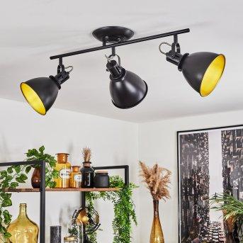 Plafonnier Koppom Noir, 3 lumières