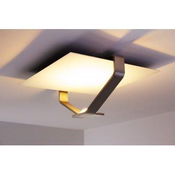 Plafonnier Elesi Luce LED Argenté, 1 lumière