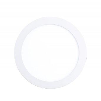 Lampe à encastrer Eglo FUEVA 1 LED Blanc, 1 lumière