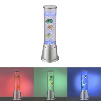 Colonne d'eau Leuchten-Direkt AVA LED Argenté, 1 lumière, Changeur de couleurs
