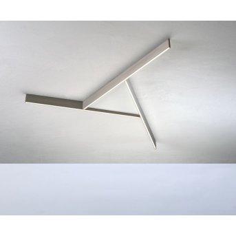 Plafonnier Bopp NANO PLUS COMFORT LED Blanc, Beige, 1 lumière