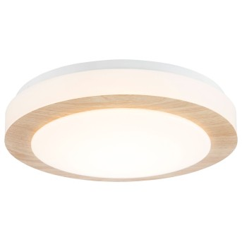 Plafonnier Nino Leuchten GORDON LED Blanc, 1 lumière