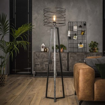 Lampadaire Laghalerveen Anthracite, 1 lumière