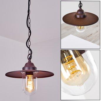 Lampe d'extérieur Mijas Rouille, 1 lumière