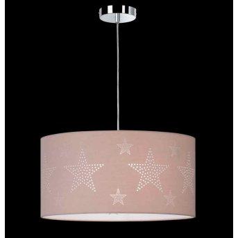 Lampe suspendue Honsel STELLA Chrome, 1 lumière