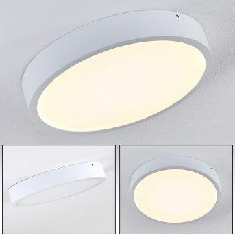 Plafonnier Broglen LED Blanc, 1 lumière