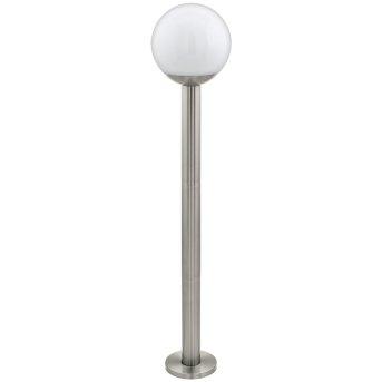 Lampadaire d'extérieur Eglo Connect NISIA LED Acier inoxydable, 1 lumière