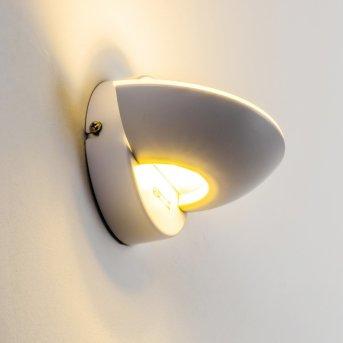 Applique murale Dominical LED Blanc, 2 lumières