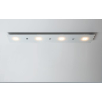 Plafonnier Escale Studio LED Blanc, 4 lumières