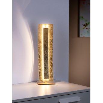 Lampe à poser Paul Neuhaus NEVIS LED Or, 1 lumière