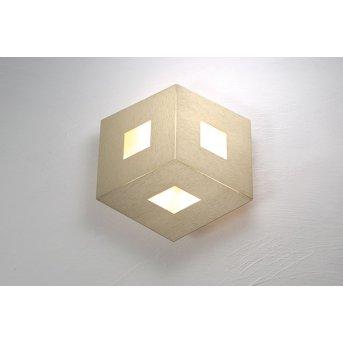 Plafonnier Bopp-Leuchten BOX COMFORT LED Or, 3 lumières