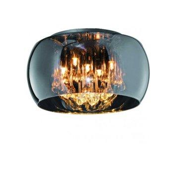 Suspension Sorpetaler Leuchten Vapore Chrome, 5 lumières