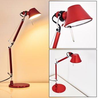 Lampe à poser Artemide TOLOMEO MICRO Rouge, 1 lumière