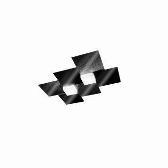 Applique murale / Plafonnier Grossmann CREO LED Noir, 2 lumières