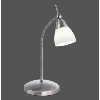 Lampe à poser Paul Neuhaus PINO LED Acier inoxydable, 1 lumière