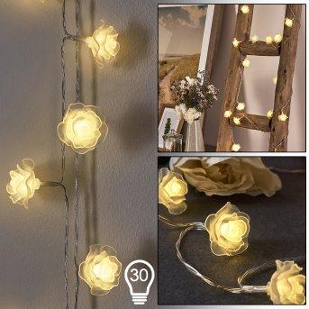 Guirlande Sondrio LED, 30 lumières