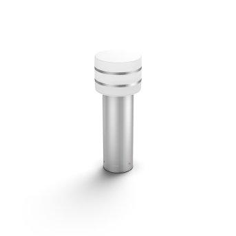 Borne lumineuse Philips Hue White Tuar LED Argenté, Acier inoxydable, 1 lumière