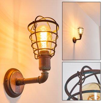 Applique murale Taggia Rouille, 1 lumière