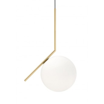 Suspension FLOS IC Light Laiton, 1 lumière