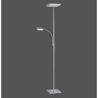 Lampadaire Leuchten Direkt HANS LED Acier inoxydable, 2 lumières