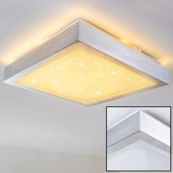 Plafonnier Sora Star LED Blanc, 1 lumière