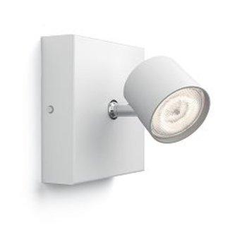 Plafonnier Philips Star LED Blanc, 1 lumière