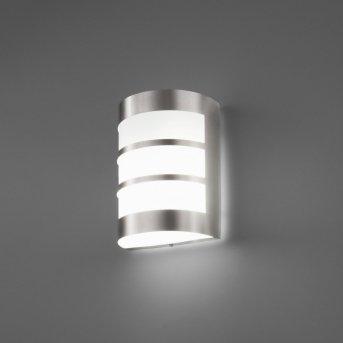 Lampe murale d'extérieur Faro Cela Nickel mat, 1 lumière