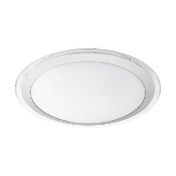 Plafonnier Eglo COMPETA-C LED Blanc, 1 lumière, Changeur de couleurs