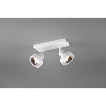Spot Trio Leon LED Blanc, 2 lumières