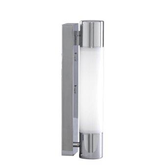 Lampe pour salle de bain Searchlight POPLAR LED Chrome, Blanc, 1 lumière
