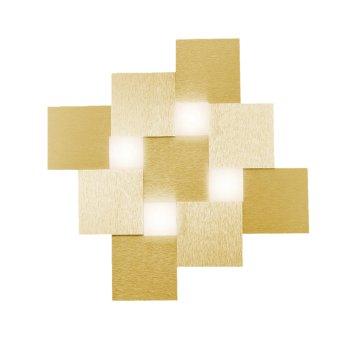 Plafonnier Grossmann CREO LED Laiton, 4 lumières