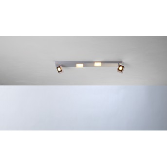 Plafonnier Bopp SESSION LED Aluminium, 2 lumières