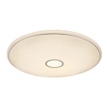 Plafonnier Globo Connor LED Blanc, 1 lumière, Télécommandes