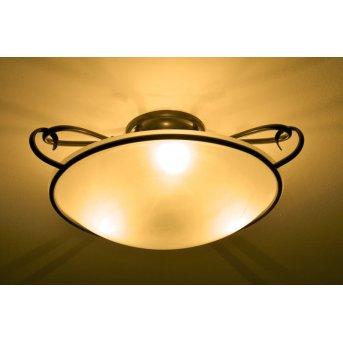 Plafonnier Honsel Como Rouille, 3 lumières